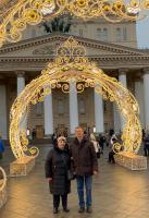 Новогодние дни в Москве